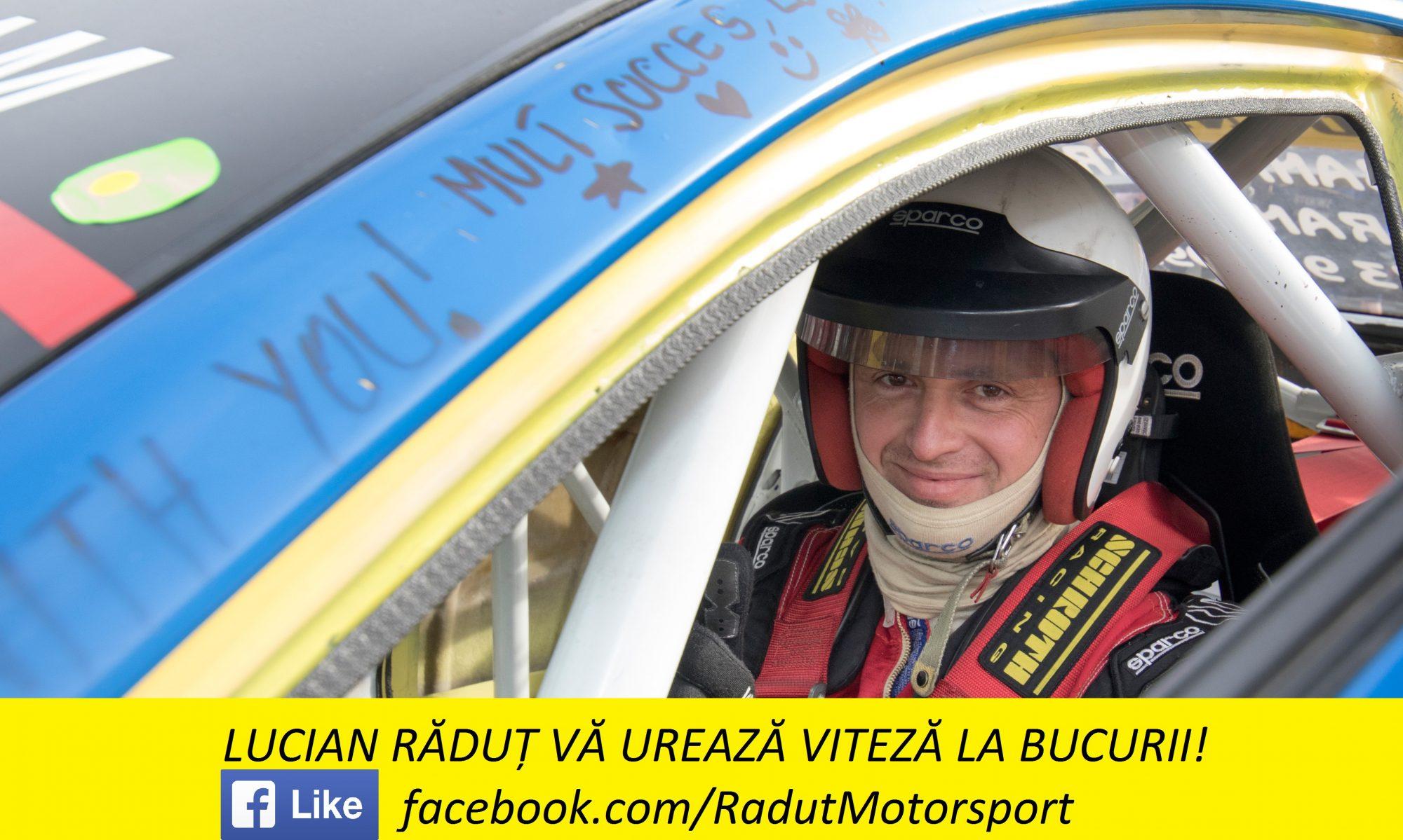 Lucian Răduț - Pilot român de viteză în coastă